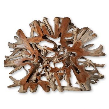 Διακοσμητική ρίζα από τικ ξύλο