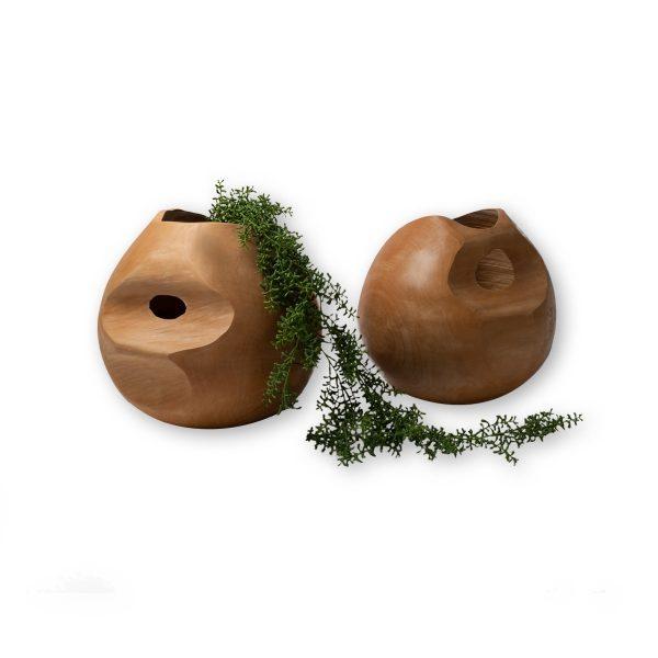 Χειροποίητο Βάζο ,,βάζο ξύλινο, tamarind wood – διακοσμητικό μπολ.