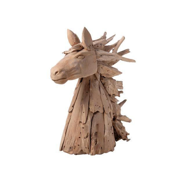 Διακοσμητικό ξυλόγλυπτο άλογο, αλλού διακοσμητικό από τικ ξύλο